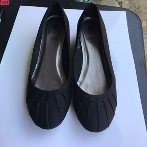 Black Wedges Size 8