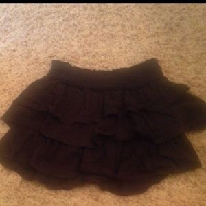 Justice Other - Black ruffle girls justice skirt size 12