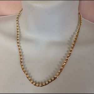 Jewelry - Napier Pearl Gold Necklace