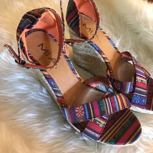 MIA Shoes - Colorful wedges