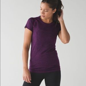 lululemon athletica Tops - Lululemon Swiftly Tech SS - Chilled Grape