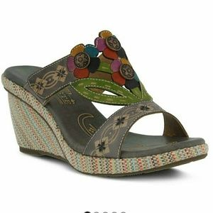 Spring Step Shoes - Spring Step Sandal wedges, colorful & comfy