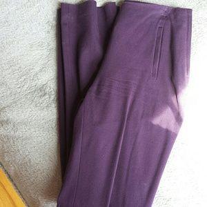H&M Slim Fit Plum Dress pants