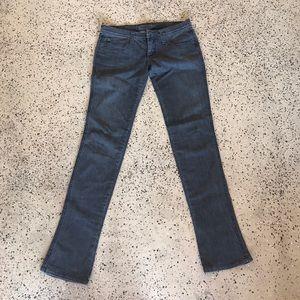 Frankie B. Denim - Frankie B Grey Low-rise Jeans- Size 6