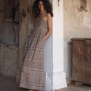 Edme & Esyllte Anthropologie Hypnotic Maxi Dress 4