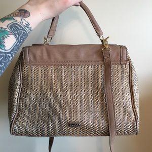 Aldo Handbags - Aldo's Ostrich Woven Crossbody