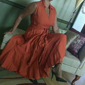 Ashley Stewart Dresses & Skirts - Ashley Stewart Full Skirt Dress 💲FIRM