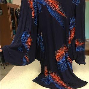 Rachel Pally Dresses & Skirts - Super cute Rachel Pally FEATHER print short dress