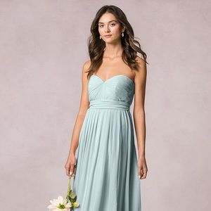 Jenny Yoo Dresses & Skirts - Jenny Yoo Mira bridesmaid dress in ciel blue sz 4