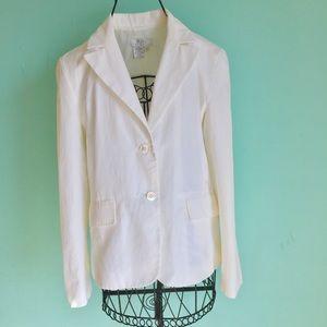 BCBGMaxAzria Jackets & Blazers - 🔥Sale🔥 BCBG MAXAZRIA IVORY WHITE BLAZER