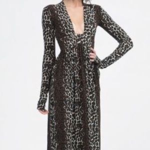 Dresses & Skirts - Nadia Tarr Long Sleeve Maxi Dress