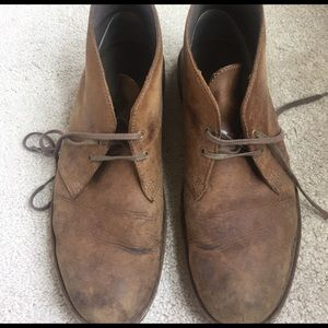 Clarks Other - Clarks chukkas 10m brown leather