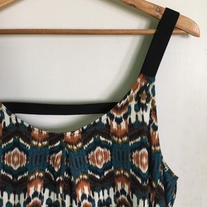 Willow & Clay Tops - Willow & Clay Print Tank Top