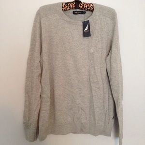 Nautica Other - NWT Nautica Heather Grey Pullover Sweater M