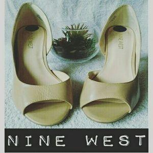 Nine West Shoes - Nude Nine West Dorsey d'Orsay Pump