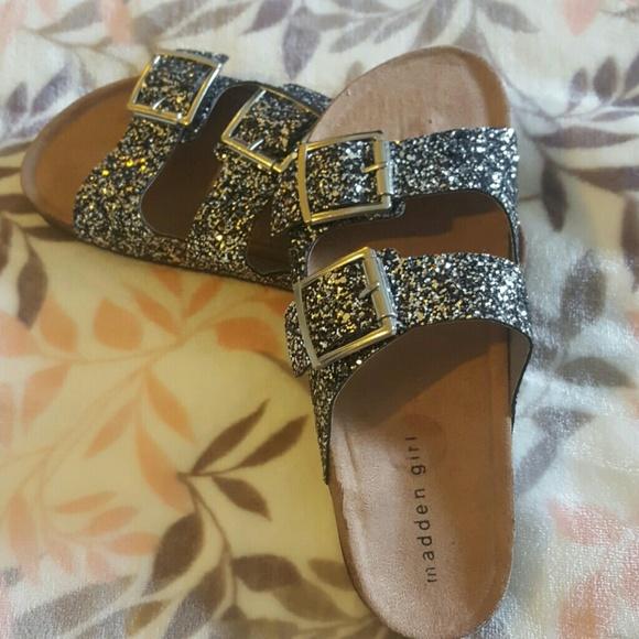 ce6caa17b 🎊LAST ONE!!!🎊🎊 Madden Girl Glitter Birkenstock
