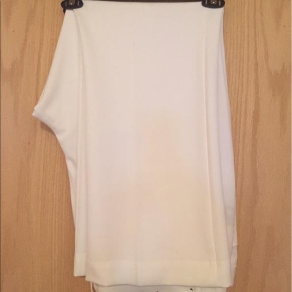 Worthington Pants - Worthington 20WS White Wide Leg Pants Slacks