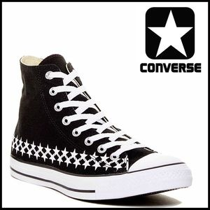 Converse Other - ❗️1-HOUR SALE❗️CONVERSE STYLISH CANVAS HI-TOPS
