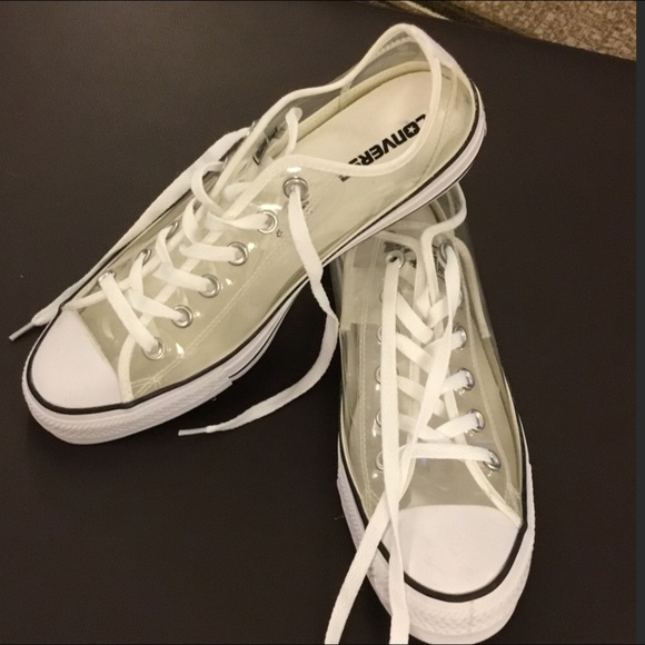 f5c987fd1cc8 Converse Shoes - Converse chuck Taylor all star clear plastic new
