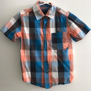 urban Other - Boys plaid button down