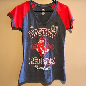 Majestic Tops - Red Sox tshirt