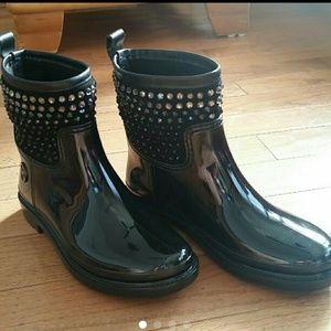 Michael Kors Dani Rain Boots sz 6