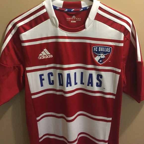 288a3f9e530 Adidas Other - Adidas climacool FC Dallas jersey ADULT SMALL