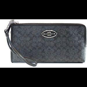 Coach Handbags - COACH box coated canvas signature LZP ZPY wallet