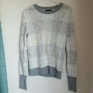 Banana Republic Sweaters - Price negotiable! BR Oversized Checkered Sweater