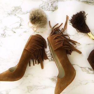 MIA Shoes - NIB Fringe detailed heels