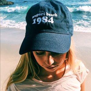 Brandy Melville Katherine Newport Beach 1984 Cap
