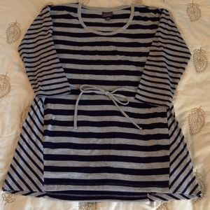 Oh Baby by Motherhood Tops - Striped maternity top