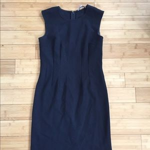 Black Ann Taylor Loft shift dress