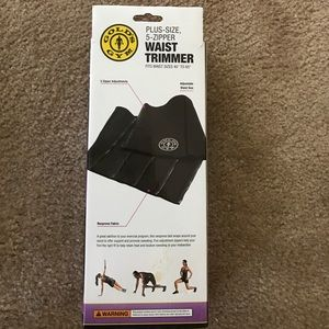 ead2de6790 golds gym Other - Plus Size 5 zipper waist trimmer