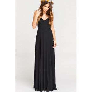 Show Me Your MuMu Dresses & Skirts - NWOT show me your mumu Jenn maxi dress black