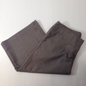 Maurices Pants - Maurice's Office Capris Grey/Tan/Blue color Sz 1/2