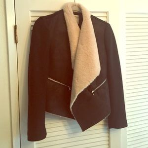 Zara Jacket with faux fur lining.