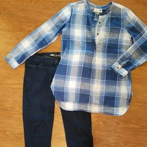 Old Navy Tops - Old Navy Plaid Tunic