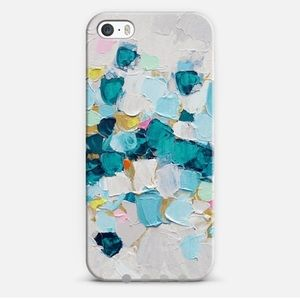 Casetify Accessories - Casetify Winter's Teal iPhone 5S Case