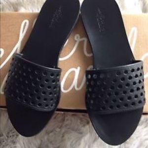 Loeffler Randall Shoes - Loeffler Randall Perforated Sybil Slides!