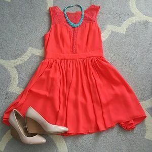 oasis Dresses & Skirts - Wonderland hit pink sun dress