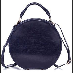 Pink Haley Handbags - 👜NEW👜 New Hat Box Satchel bag In Navy💙👜