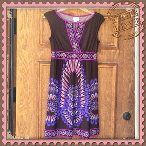 Donna Morgan Dress - Feather design - Size 4