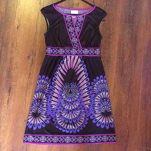Donna Morgan Dress - Feather design - Size 4