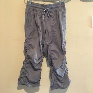 Kyodan Pants - NWOT Kyodan Athletic Ruched Capri Studio Pant