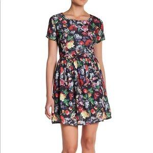 Romeo + Juliet couture floral dress