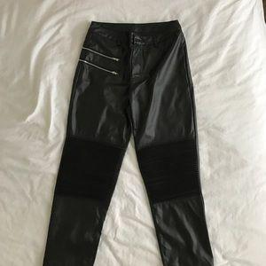 Pants - NWOT Faux leather pants/leggings
