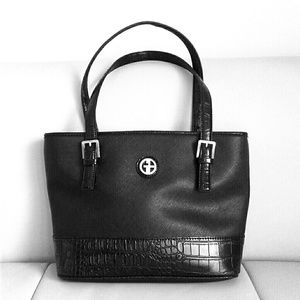 Giani Bernini Handbags - GIANI BERNINI SAFFIANO CROC Designer bag.