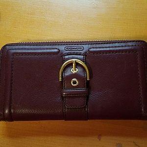 Handbags - Coach Leather Wallet