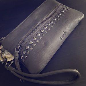 The Sak Handbags - The Sak Leather Charging Wristlet